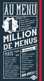 Isabel Brancq-Lepage - Au menu - 1 million de menus.