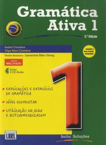 Isabel Coimbra - Gramatica ativa 1. 3 CD audio