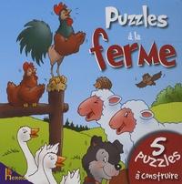 Isabella Camino et Léa Thomattéo - Puzzles à la ferme - Coq.