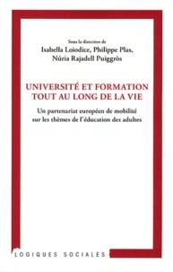 Isabella Loiodice et Philippe Plas - Université et formation tout au long de la vie - Un partenariat européen de mobilité sur les thèmes de l'éducation des adultes.