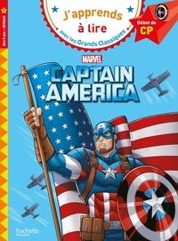 Isabelle Albertin et  Marvel - Captain America - Début de CP Niveau 1.