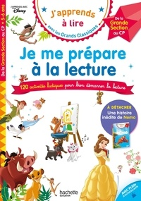 Isabelle Albertin - Je me prépare à la lecture - Avec une histoire inédite de Nemo.