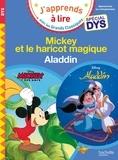 Isabelle Albertin et Valérie Viron - Mickey et le haricot magique ; Aladdin.