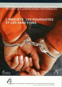 Isabelle Andoulsi - L'enquête, les poursuites et les sanctions.