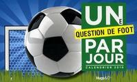 Isabelle Antoni - Une question de foot par jour Calendrier 2010.