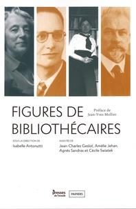 Isabelle Antonutti - Figures de bibliothécaires.