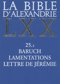 Deedr.fr La Bible d'Alexandrie - Baruch, Lamentations, Lettre de Jérémie Image