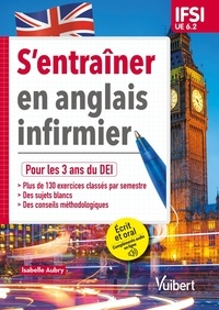 Isabelle Aubry - S'entraîner en anglais infirmier UE 6.2.
