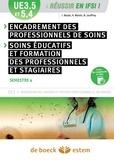Isabelle Bayle et Béatrice Jouffroy - Encadrement des professionnels de soins - Soins éducatifs et formation des professionnels et des stagiaires UE 3.5 S4 et UE 5.4 S4.