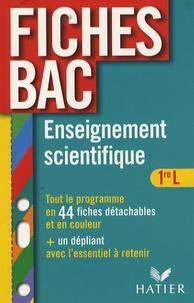 Isabelle Bednarek-Maitrepierre et Alain Le Grand - Enseignement scientifique 1e L - Thèmes obligatoires et thèmes au choix.