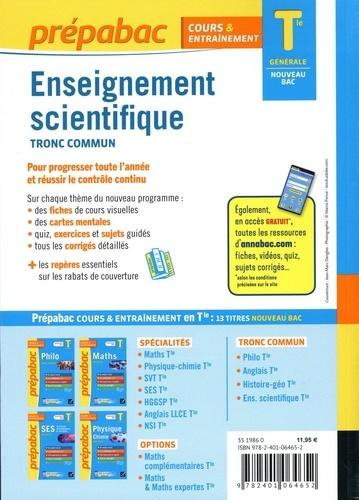 Enseignement scientifique tronc commun Tle générale  Edition 2020