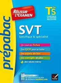 Isabelle Bednarek-Maitrepierre et Armelle Lhuillery - SVT Tle S spécifique & spécialité - Prépabac Réussir l'examen - fiches de cours et sujets de bac corrigés (terminale S).