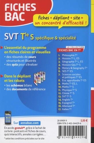 SVT Tle S. Spécifique et spécialité