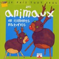 Isabelle Bochot - Des animaux en éléments naturels.