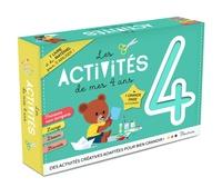 Isabelle Bochot et Sébastien Pelon - Les activités de mes 4 ans - 1 livre et du matériel pour s'amuser !.