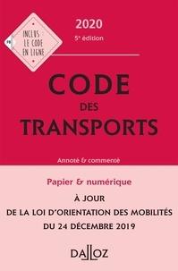 Isabelle Bon-Garcin et Philippe Delebecque - Code des transports - Annoté & commenté.
