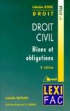 Isabelle Bufflier - Droit Civil - Biens et obligations.