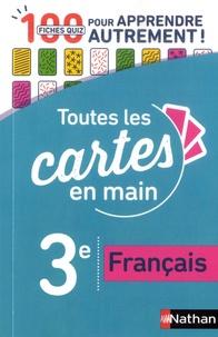Téléchargement de livres audio Français 3e  - 100 fiches quizz pour apprendre autrement ! 9782091573847 par Isabelle Cambon, Marie-Pierre Saulze