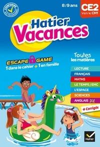 Isabelle Cardron et Anne-Sophie Lanquetin - Cahier de vacances 2021 du CE2 vers le CM1 8/9 ans.