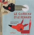 Isabelle Carrier et Jean de La Fontaine - Le corbeau et le renard.