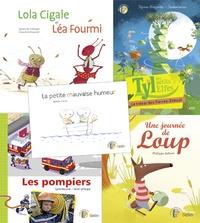Isabelle Carrier et Sylvain Brégardis - Tyl et ses amis - Pack 5 livres.