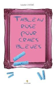 Isabelle Cayéré - Tableau rose pour craies bleues.