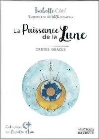 Isabelle Cerf - La Puissance de la Lune - Cartes oracle. Avec 42 cartes.