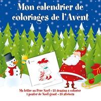 Isabelle Charbonneau - Mon calendrier de coloriage de l'Avent.