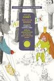 Isabelle Chatellard - Fête en forêt - Affiche grand format à colorier.