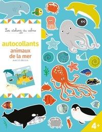 Isabelle Chauvet - Autocollants animaux de la mer - Avec 6 décors.