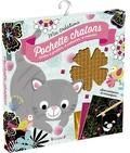 Isabelle Chauvet - Pochette chatons - Cartes à gratter, à velouter, à décorer.