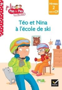 Isabelle Chavigny et Marie-Hélène Van Tilbeurgh - Je lis pas à pas avec Téo et Nina Tome 14 : Prêts pour l'école de ski - Niveau 2 milieu de CP.