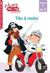 Isabelle Chavigny et Marie-Hélène Van Tilbeurgh - Je lis pas à pas avec Téo et Nina Tome 26 : Téo à moto - Niveau 1 GS-CP.