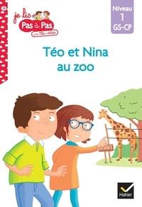 Isabelle Chavigny et Marie-Hélène Van Tilbeurgh - Je lis pas à pas avec Téo et Nina Tome 28 : Téo et Nina au zoo - Niveau 1 GS-CP.