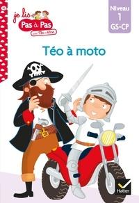 Isabelle Chavigny - Téo et Nina GS-CP Niveau 1 - Téo à moto.