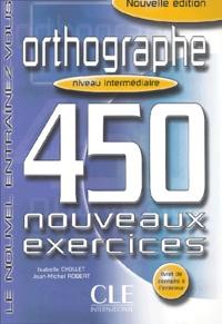 Alixetmika.fr Orthographe - 450 nouveaux exercices Niveau intermédiaire Image