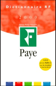 Isabelle Collard et Claude Desset - Paye 2000.