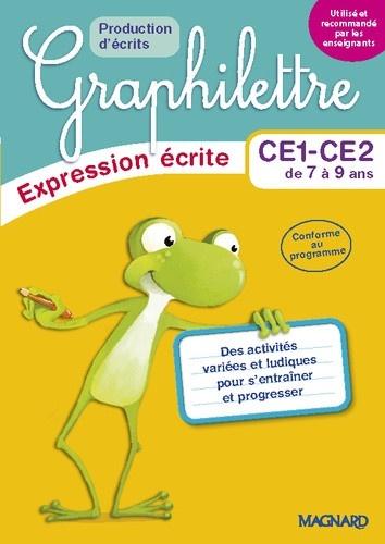 Isabelle Collioud-Marichallot - Français CE1-CE2 Graphilettre production d'écrits - Pack en 5 volumes.
