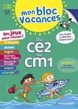 Isabelle Collioud-Marichallot et Sylvie Bordron - Mon Bloc Vacances - Du CE2 au CM1.