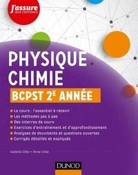 Isabelle Côte et Anne Vidal - Physique-Chimie BCPST 2e année.