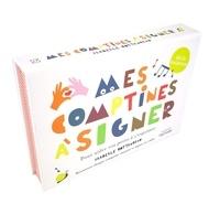 Isabelle Cottenceau - Mes comptines à signer - Pour aider votre enfant à s'exprimer. Avec 12 cartes-comptines.