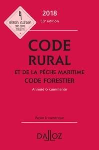 Isabelle Couturier et Edith Dejean - Code rural et de la pêche maritime ; Code forestier - Annoté & commenté.