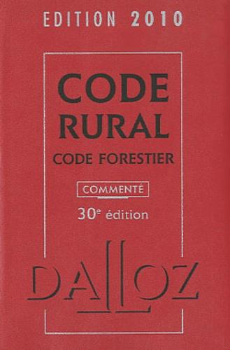 Isabelle Couturier et Edith Dejean - Code Rural - Code Forestier.