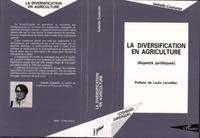 Isabelle Couturier - La diversification en agriculture - Aspects juridiques.