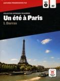 Isabelle Darras - Un été à Paris - Niveau A2. 1 CD audio MP3