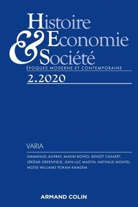 Isabelle Dasque - Histoire, Economie & Société N° 2, 2020 : .