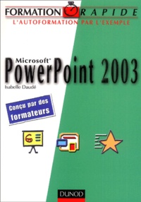 Deedr.fr Microsoft Powerpoint 2003 Image