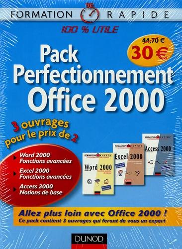Isabelle Daudé et Jean-François Sehan - Pack Perfectionnement Office 2000 en 3 volumes.