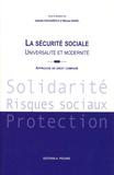 Isabelle Daugareilh et Maryse Badel - La Sécurité sociale : Universalité et Modernité - Approche de droit comparé.