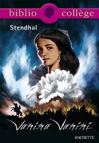 Isabelle de Lisle et  Stendhal - Bibliocollège- Vanina Vanini, Stendhal.